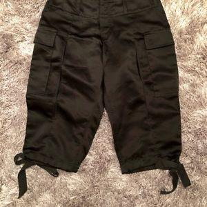 b3a1c04688b85 Betsey Johnson Pants   Locket Performance Active Capris   Poshmark